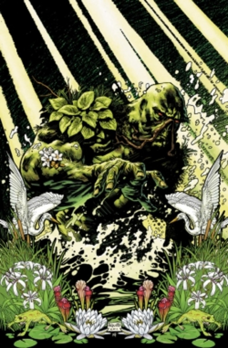 Swamp Thing #1, CoverArt