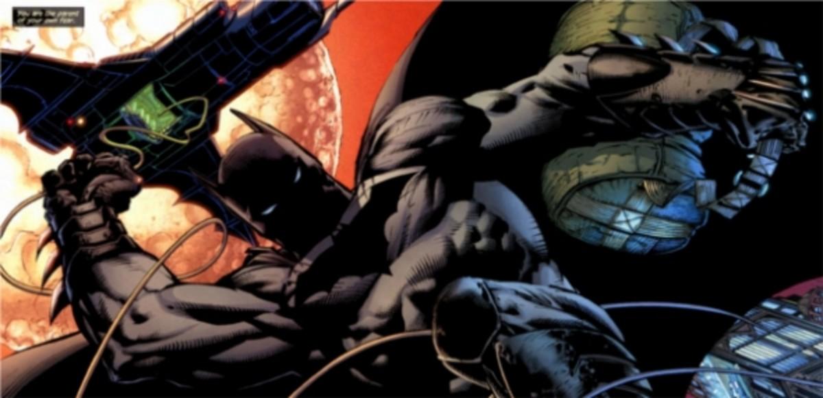Batman, The Dark Knight #1, excerpt