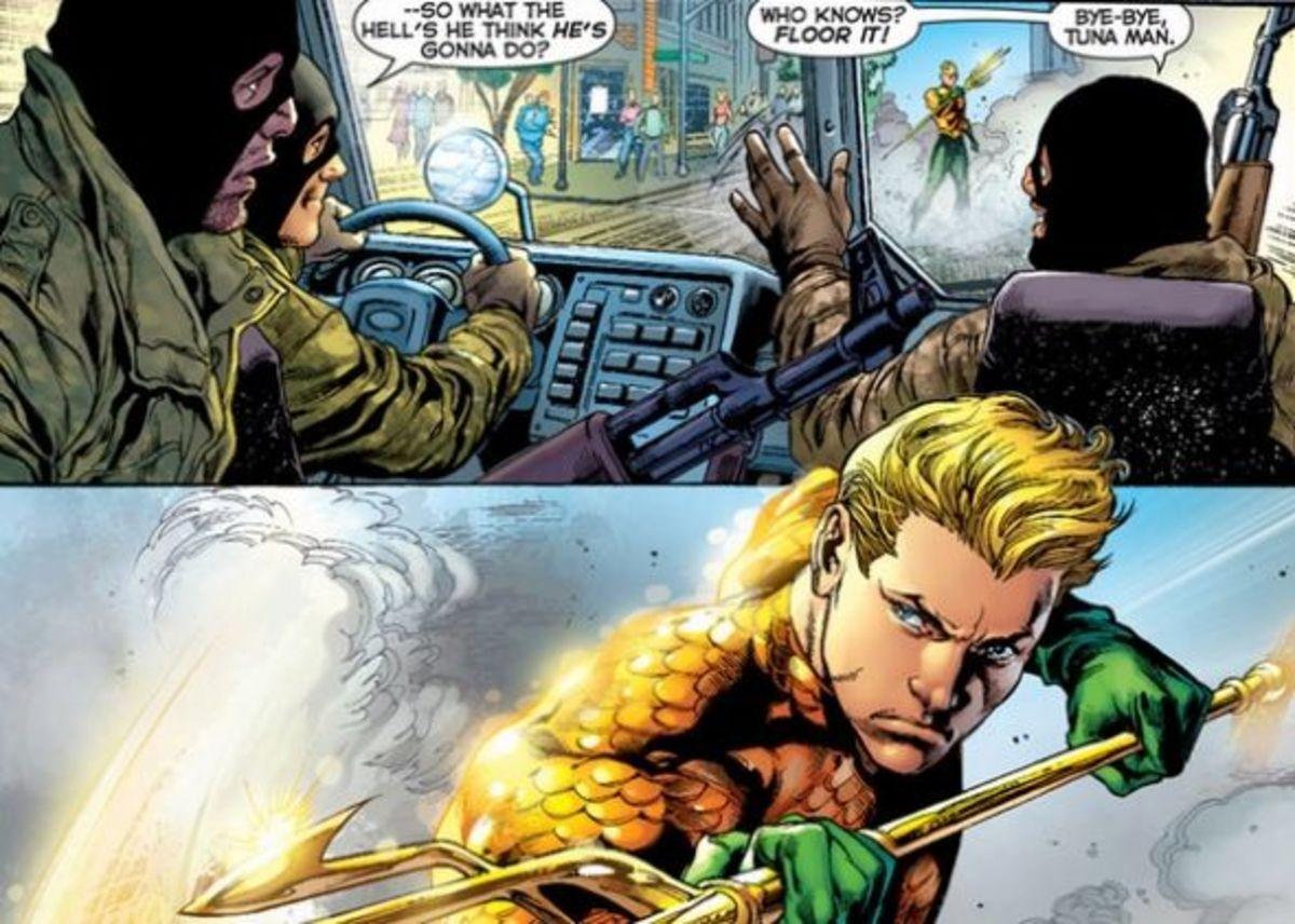 Aquaman #1, excerpt