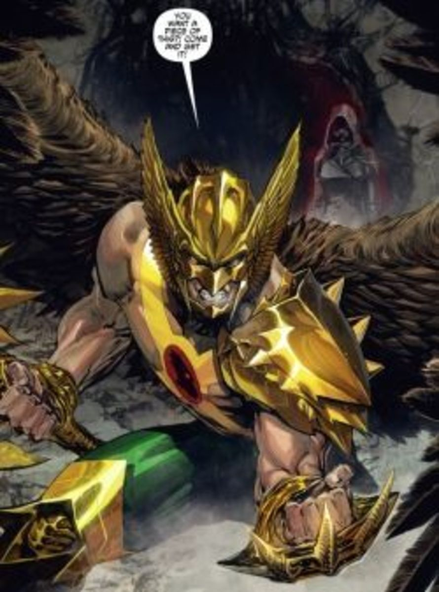 The Savage Hawkman #1, excerpt
