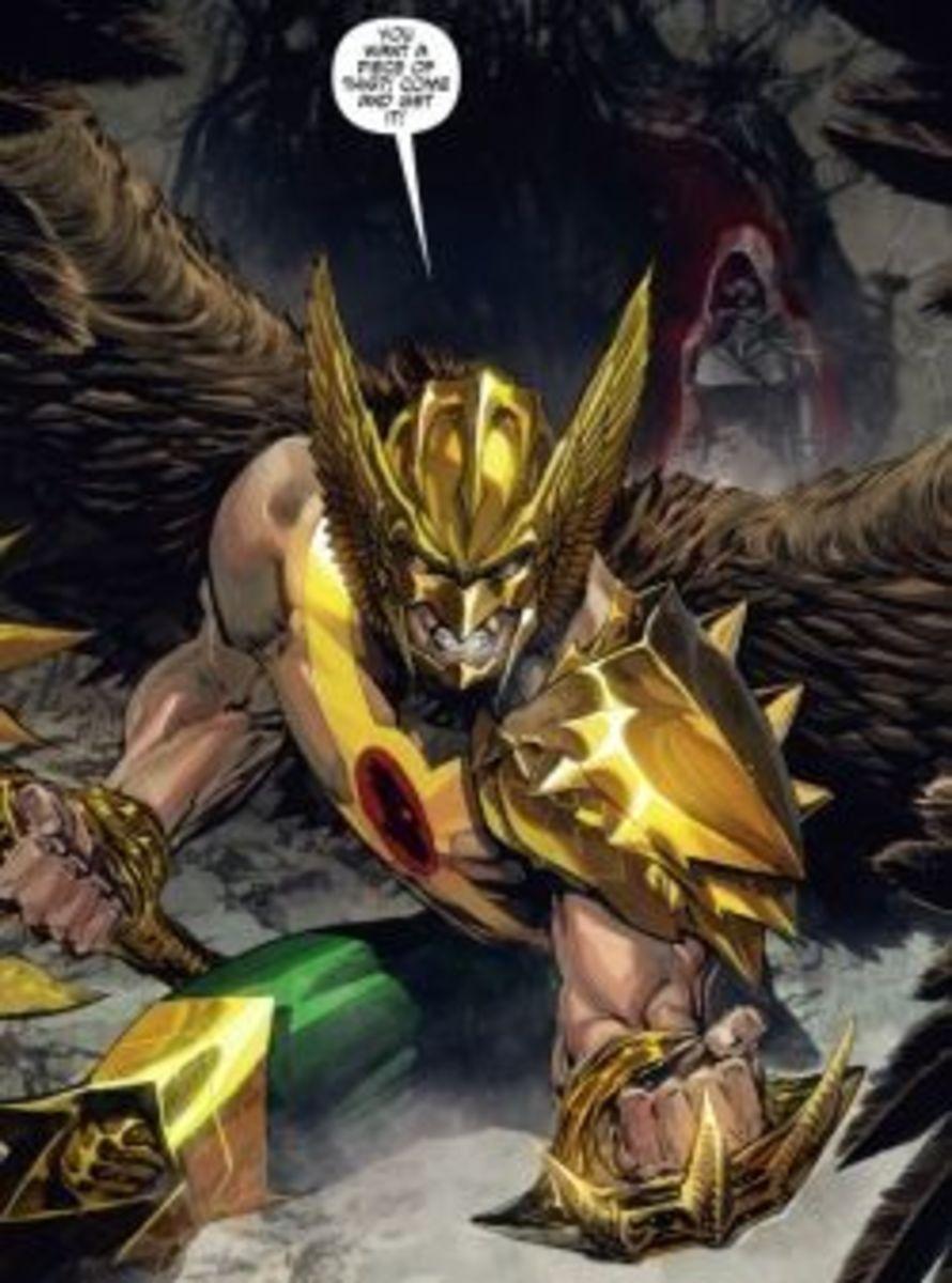 The Savage Hawkman #1, excerpt