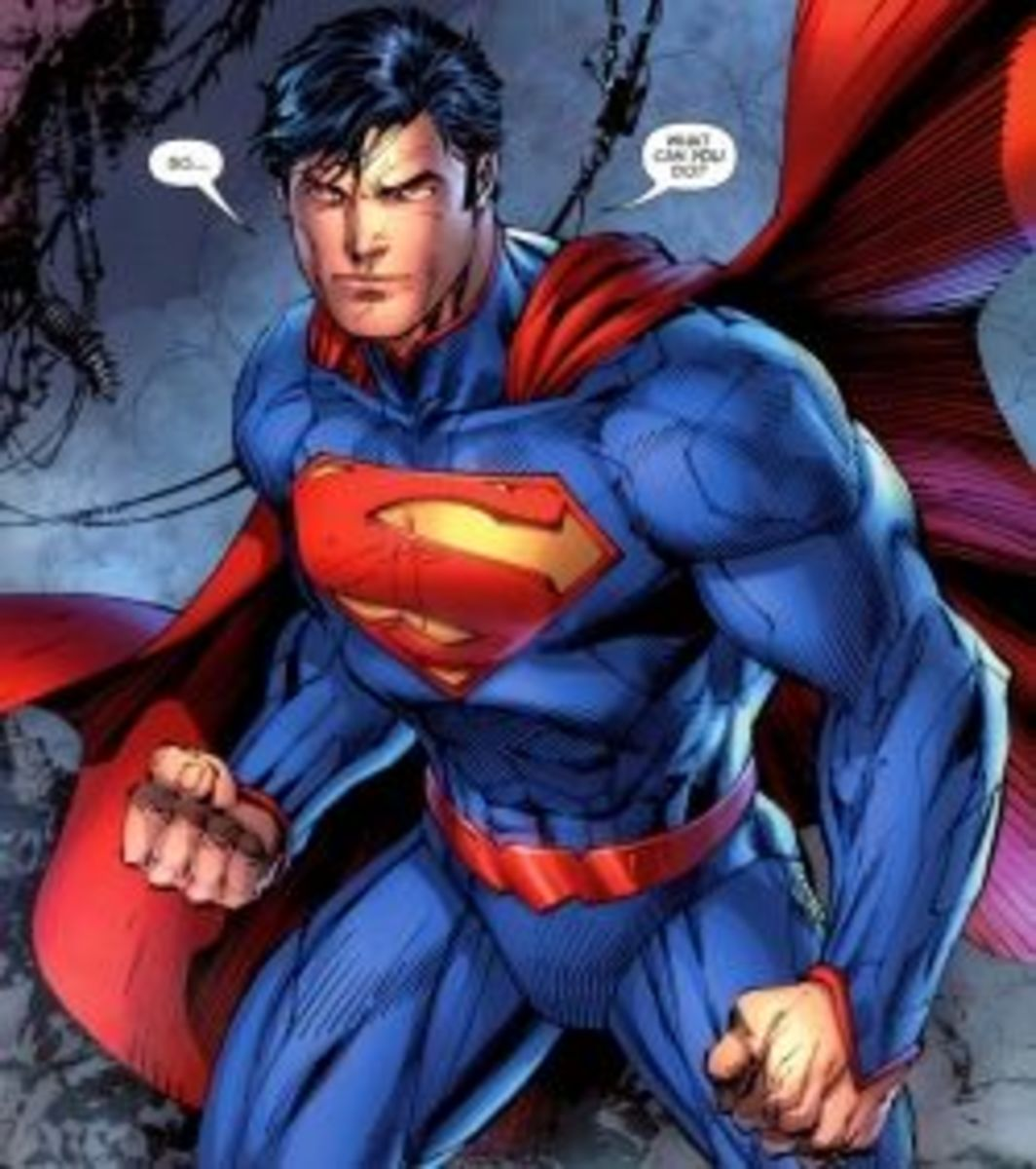 Justice League #1: Meet Superman.