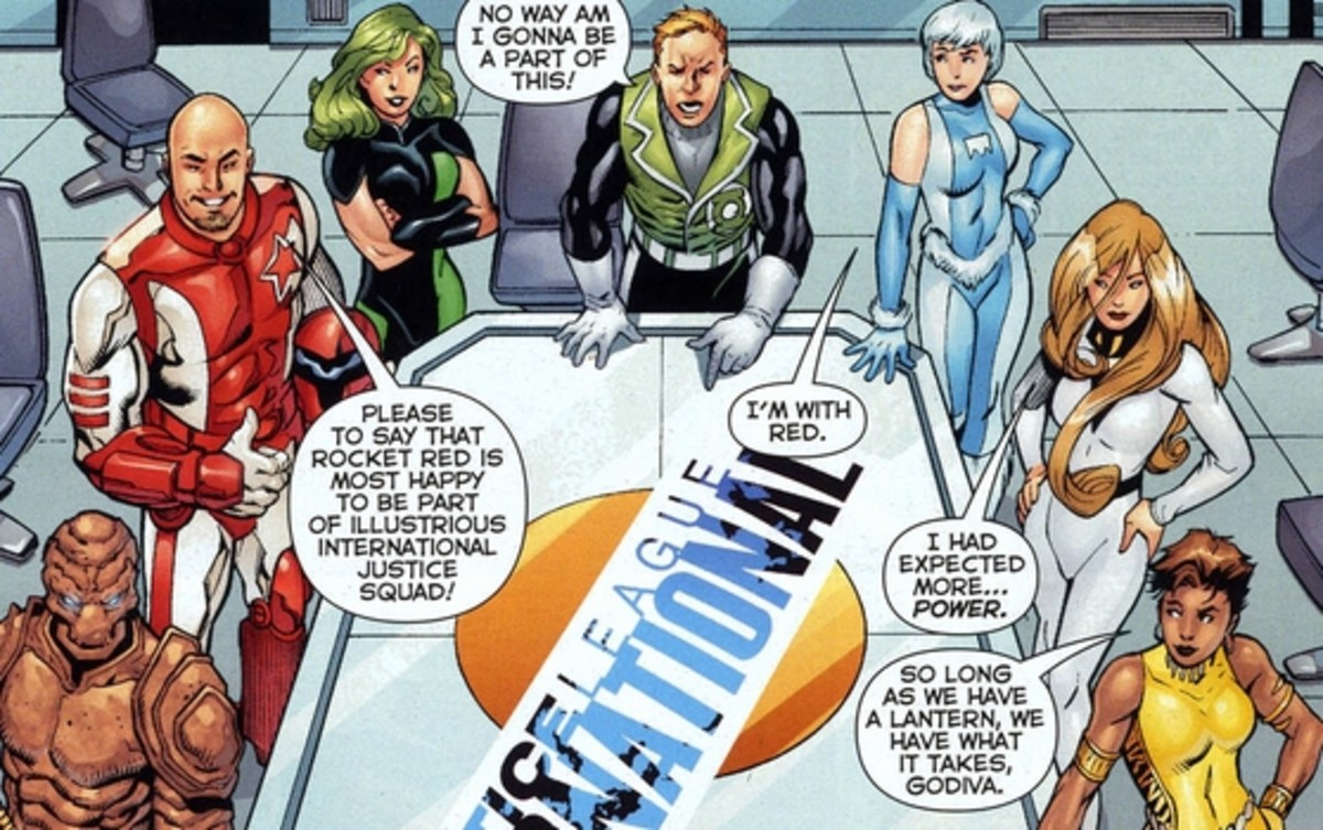 Justice League International #1 (2011), excerpt