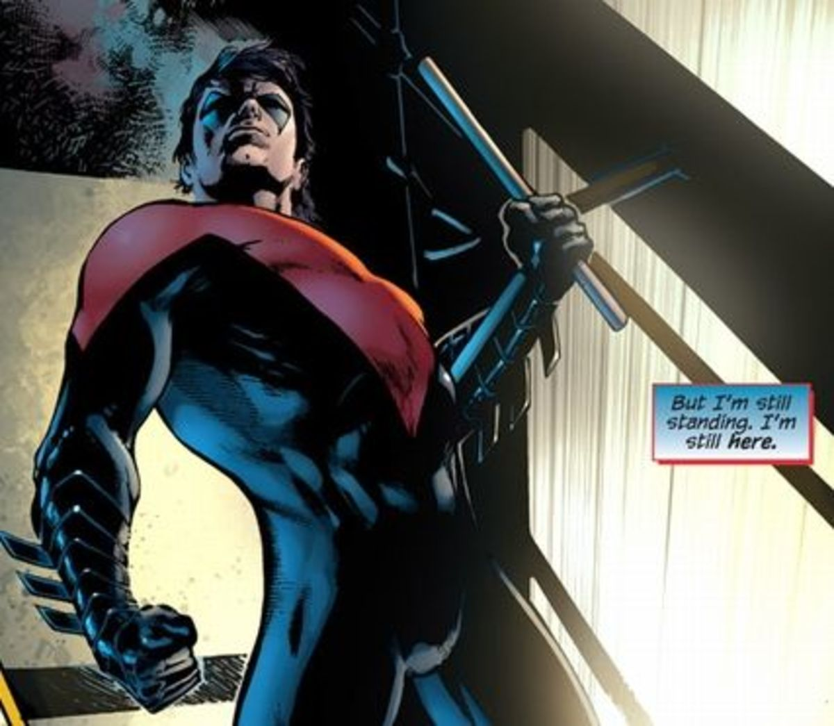 Nightwing #1, excerpt