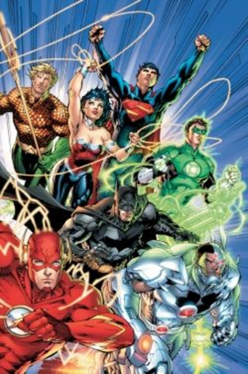The New 52 of DC Comics