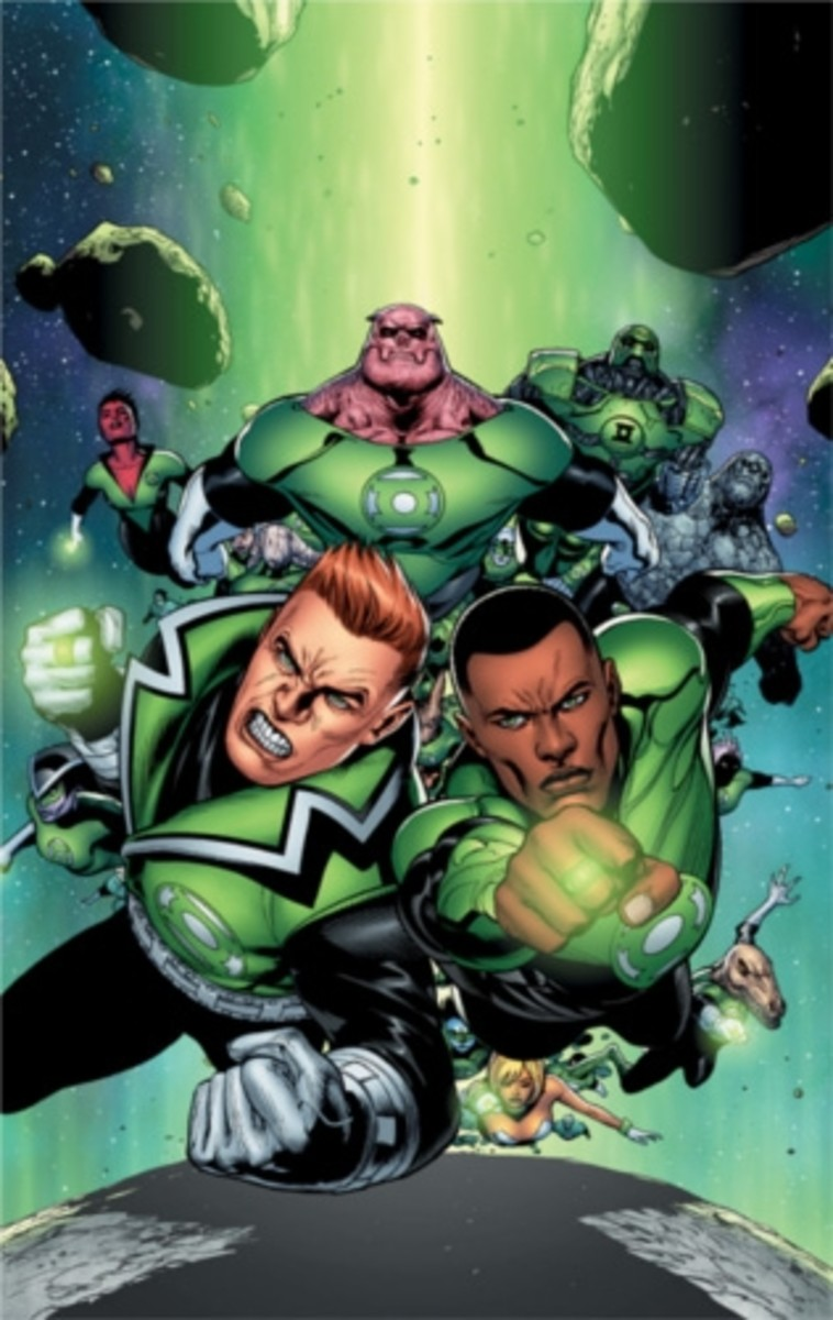 The Green Lantern Corps #1, CoverArt
