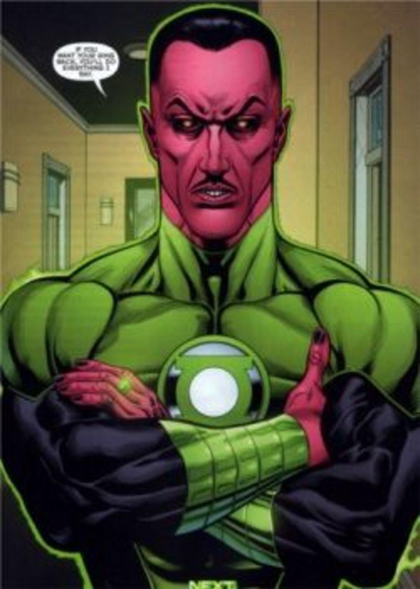 Green Lantern #1 (2011), excerpt