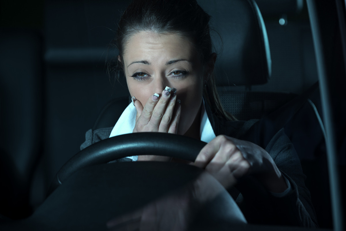 When you feel sleepy, it's time to stop driving.