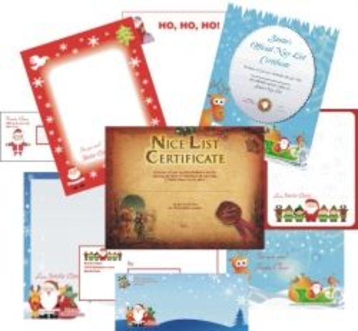 free santa letters online