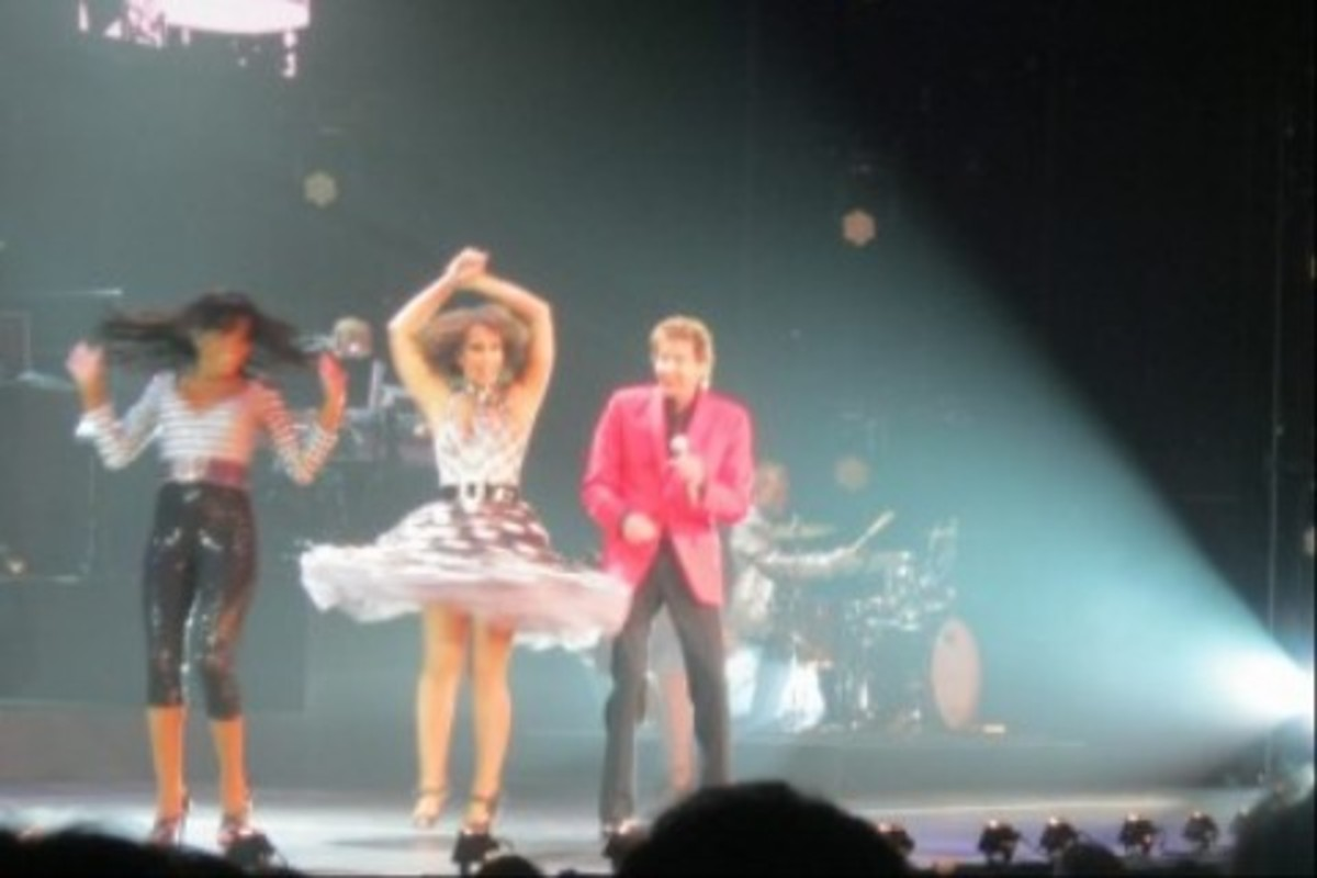 I liked the way this one turned out with the dancers in motion!