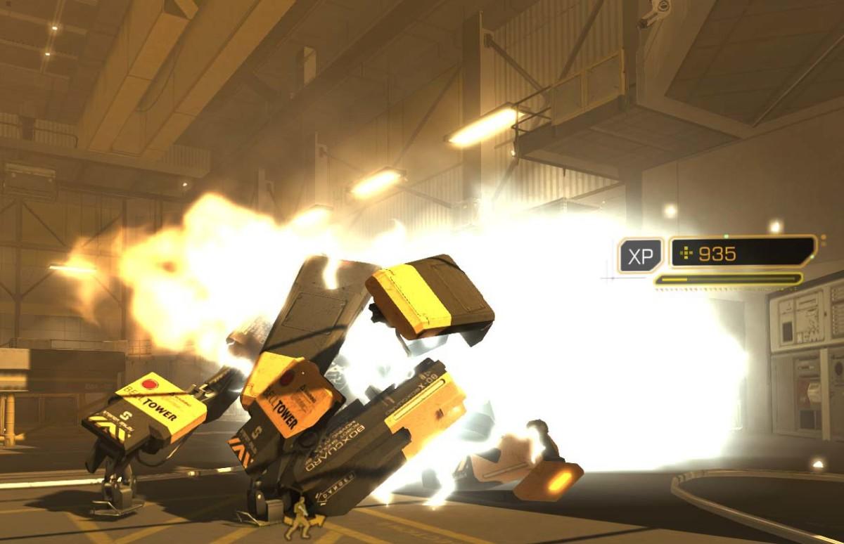 Deus Ex Human Revolution Bots Implode
