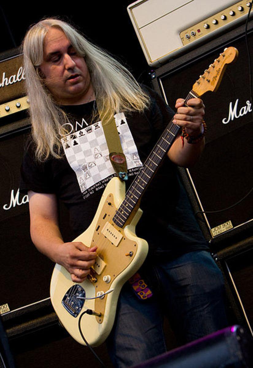 J. Mascis guitarist, vocalist and songwriter for Dinosaur Jr.