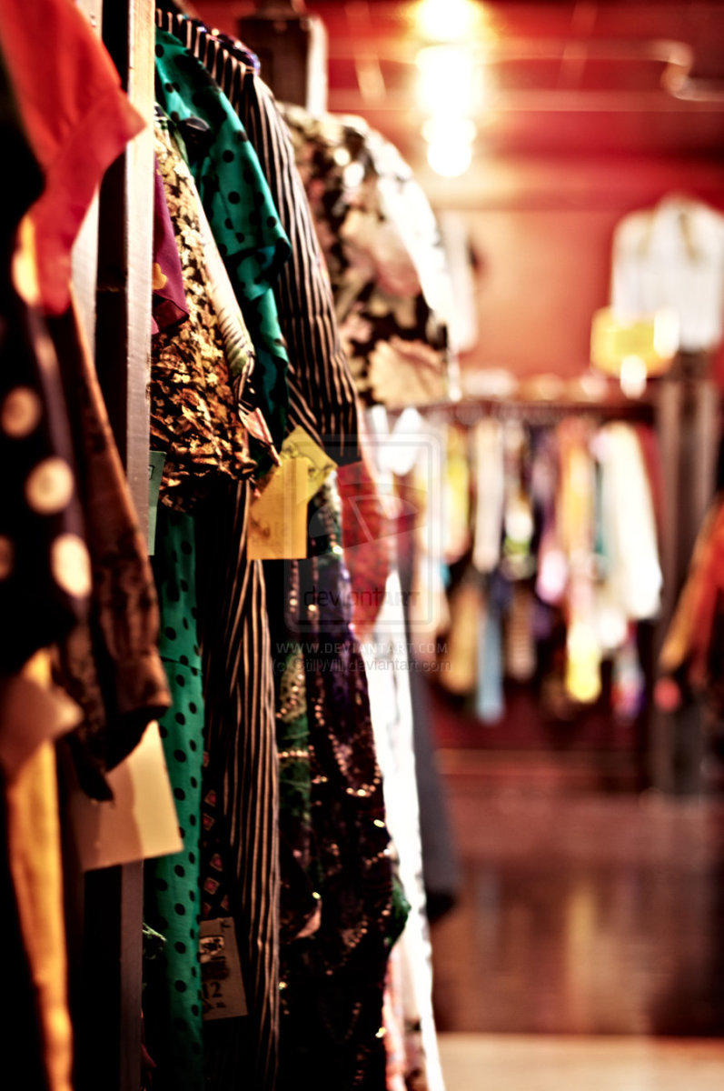 Stores that sell vintage clothing. Women clothing stores
