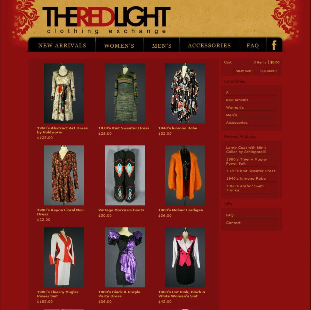 The Red Light items