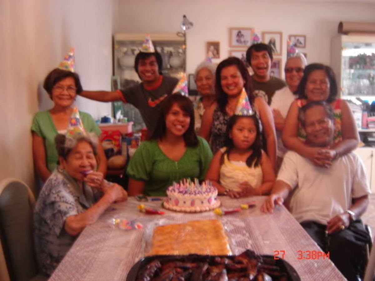 The Typical Filipino Family