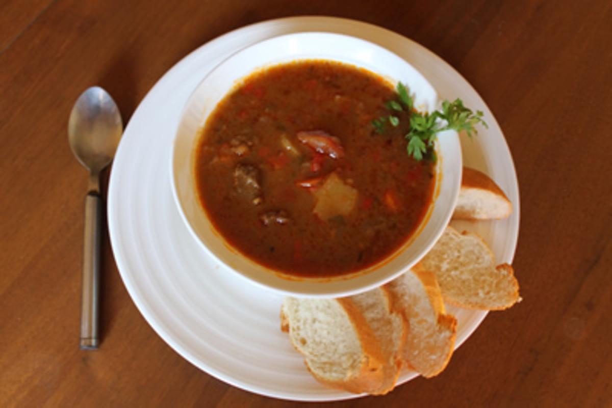 Authentic Hungarian Goulash Soup Recipe