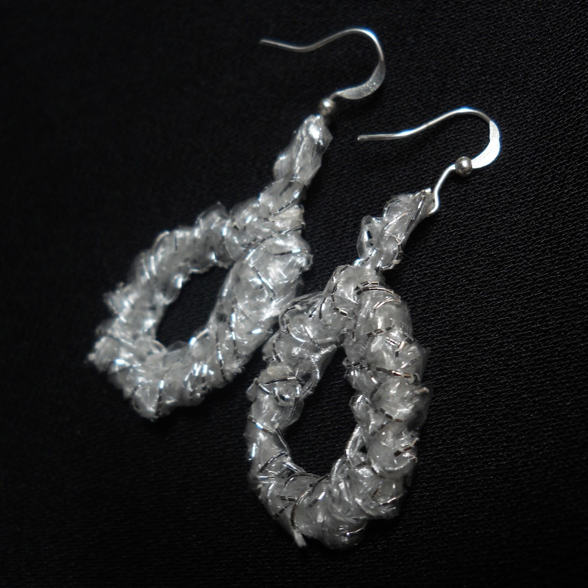 Free Crochet Pattern - Lucky Crab Stitch Earrings