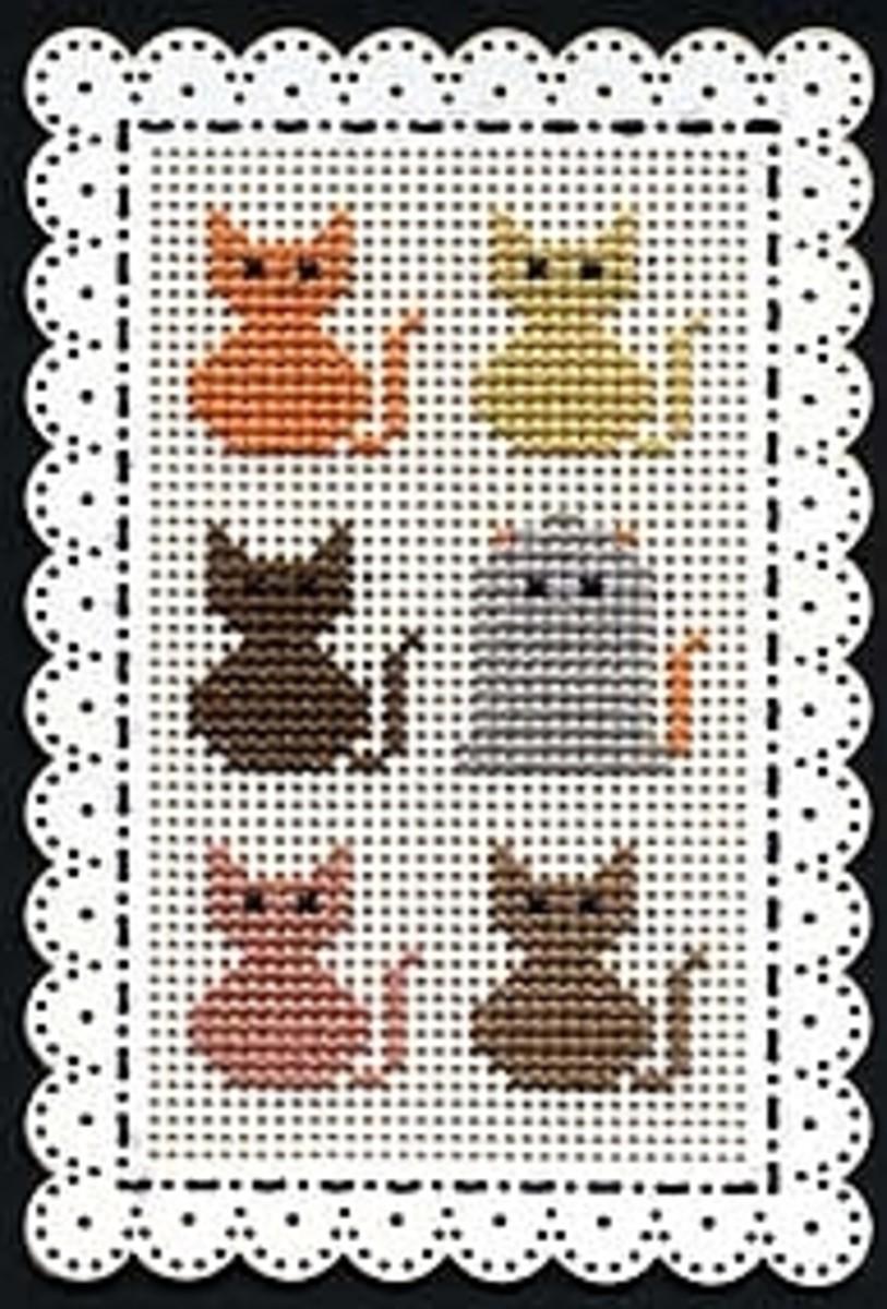 Halloween Cat Place Mat