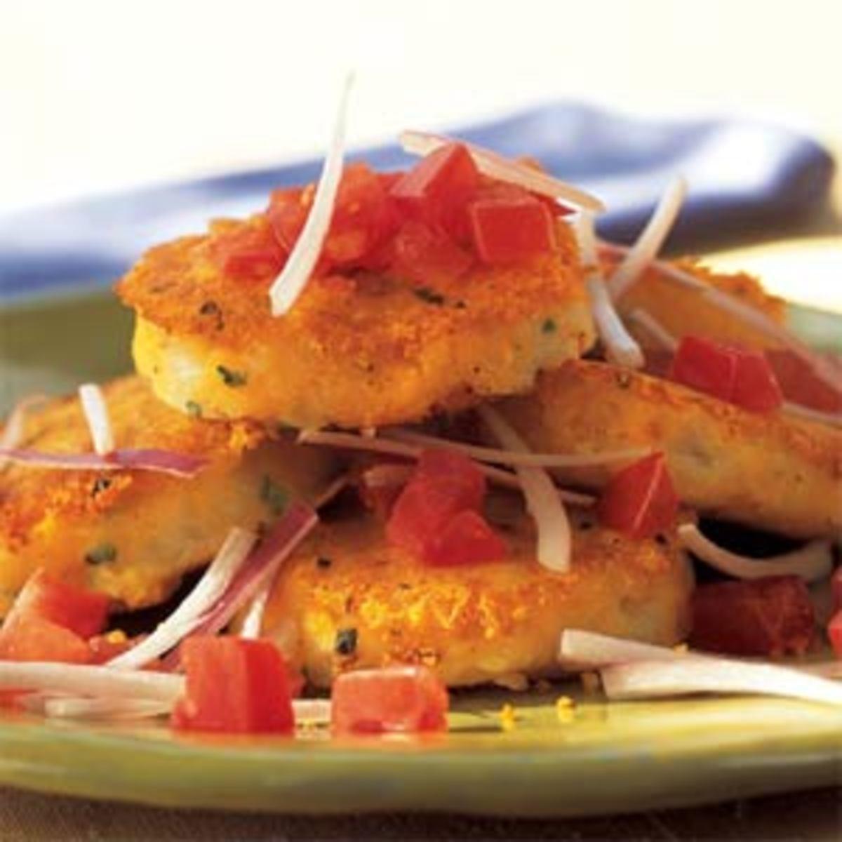 Recipe for Llapingachos (Yapingachos) - Ecuadorian Potato Cakes with Cheese