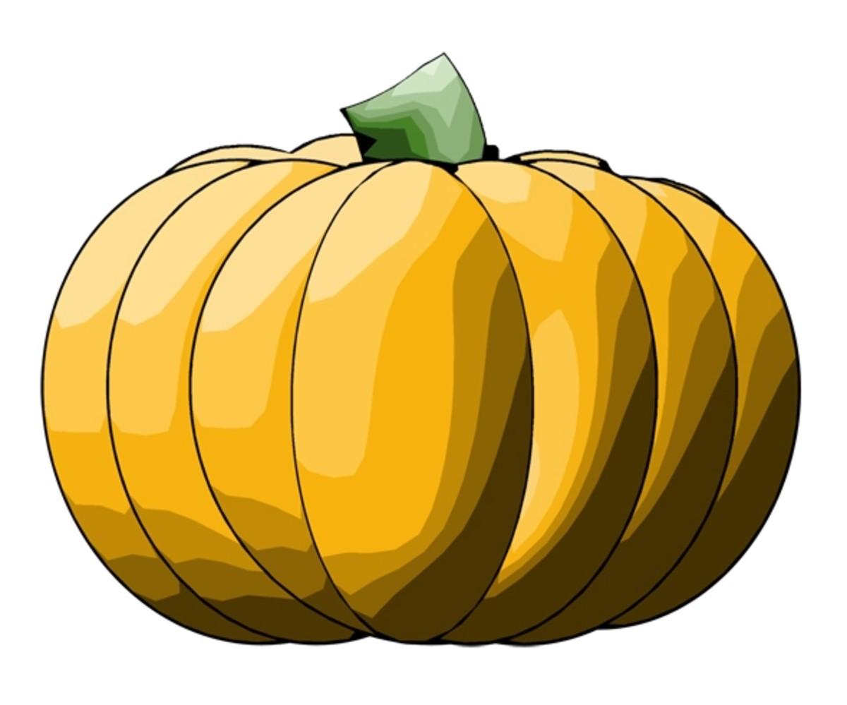 Orange Pumpkin Graphic