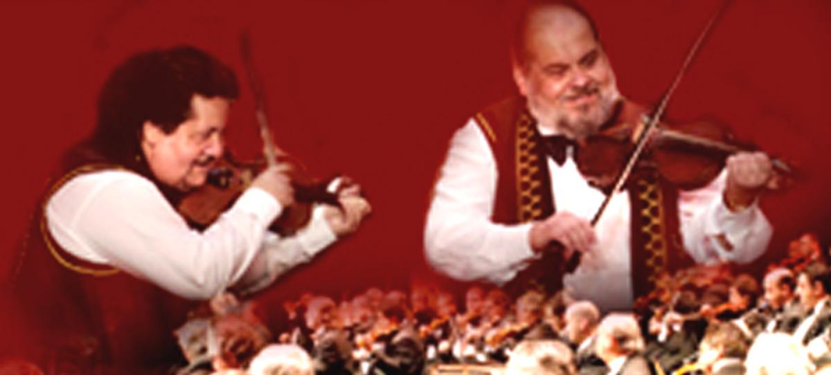Two Gypsy Violinists
