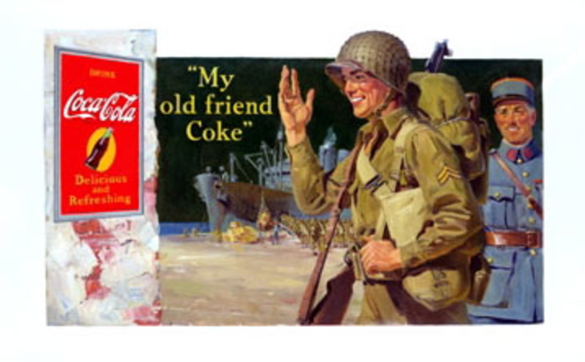 Undoubtedly, many Europeans found the sight of Coke combined with U.S. soldiers years after the war unsettling.