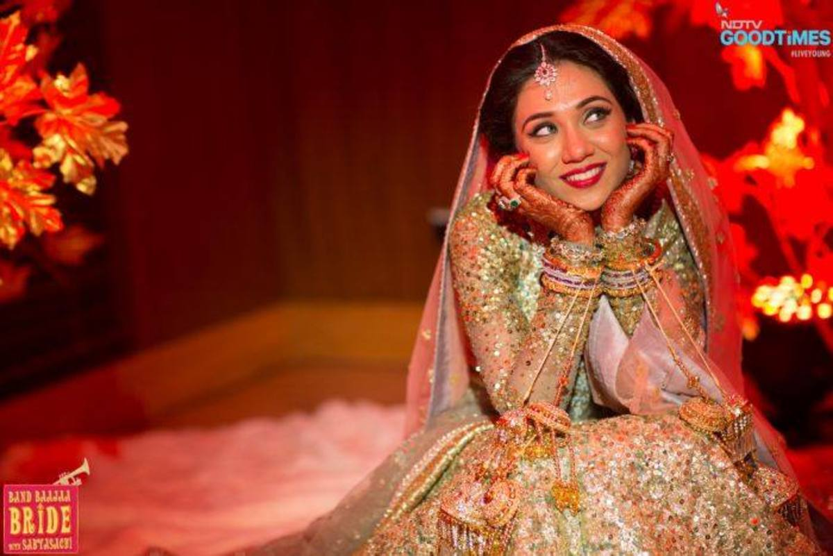 Exquisite Bridal lehenga design