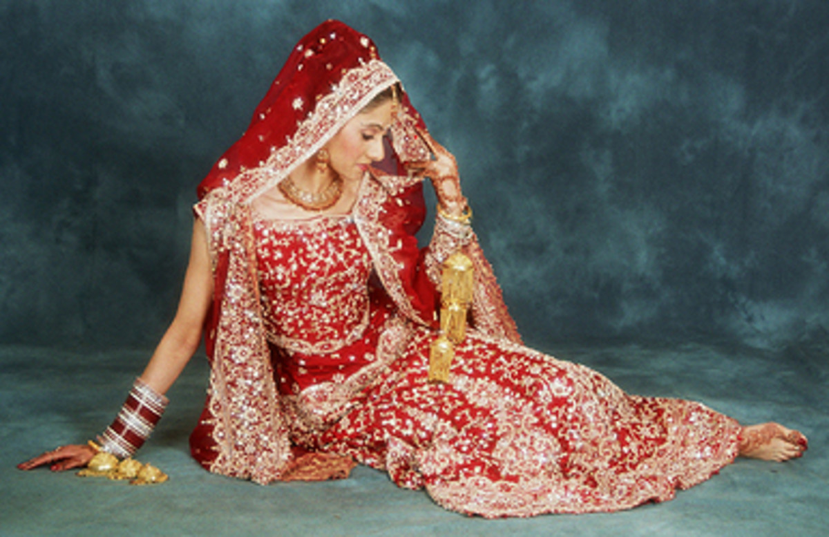 Bridal Wear - India, Bangladesh and Pakistan
