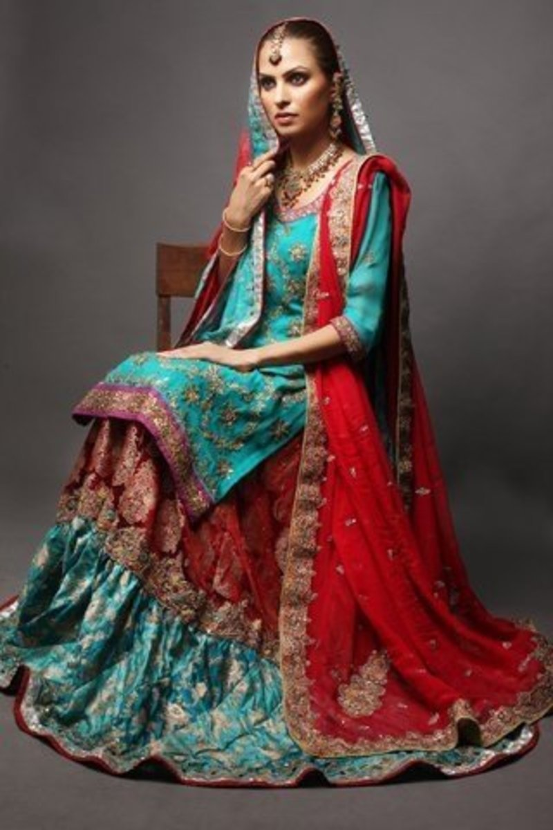 Wedding Gharara