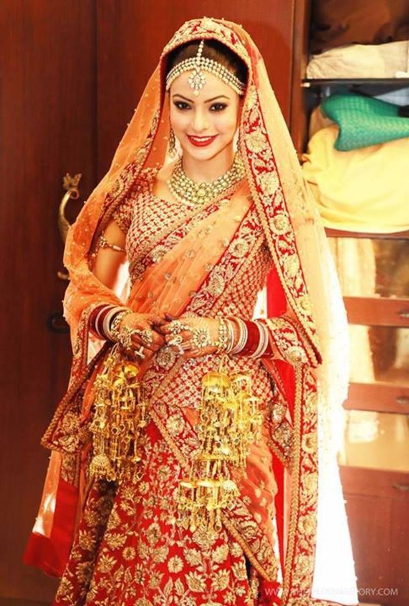 Gorgeous bridal lehenga