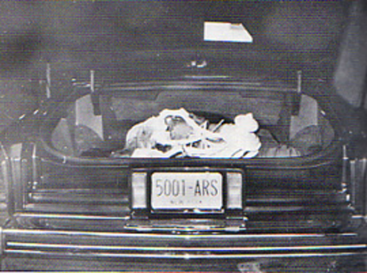 Roy DeMeo dead in the boot of his car, murdered by Kuklinski