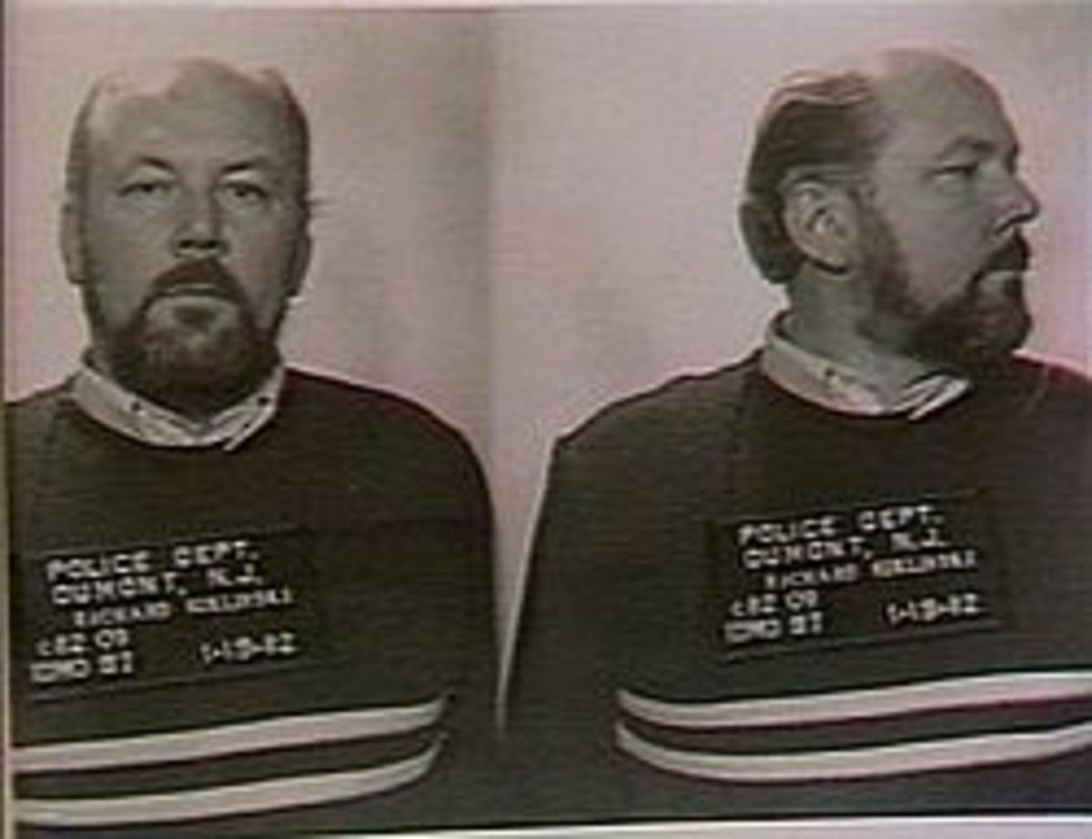 Richard Kuklinski in a mug shot