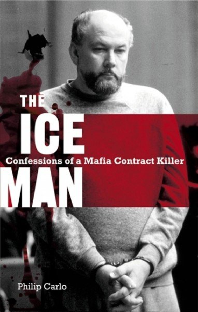 The Ice Man by Philip Carlo- the true story  of a ruthless American hitman