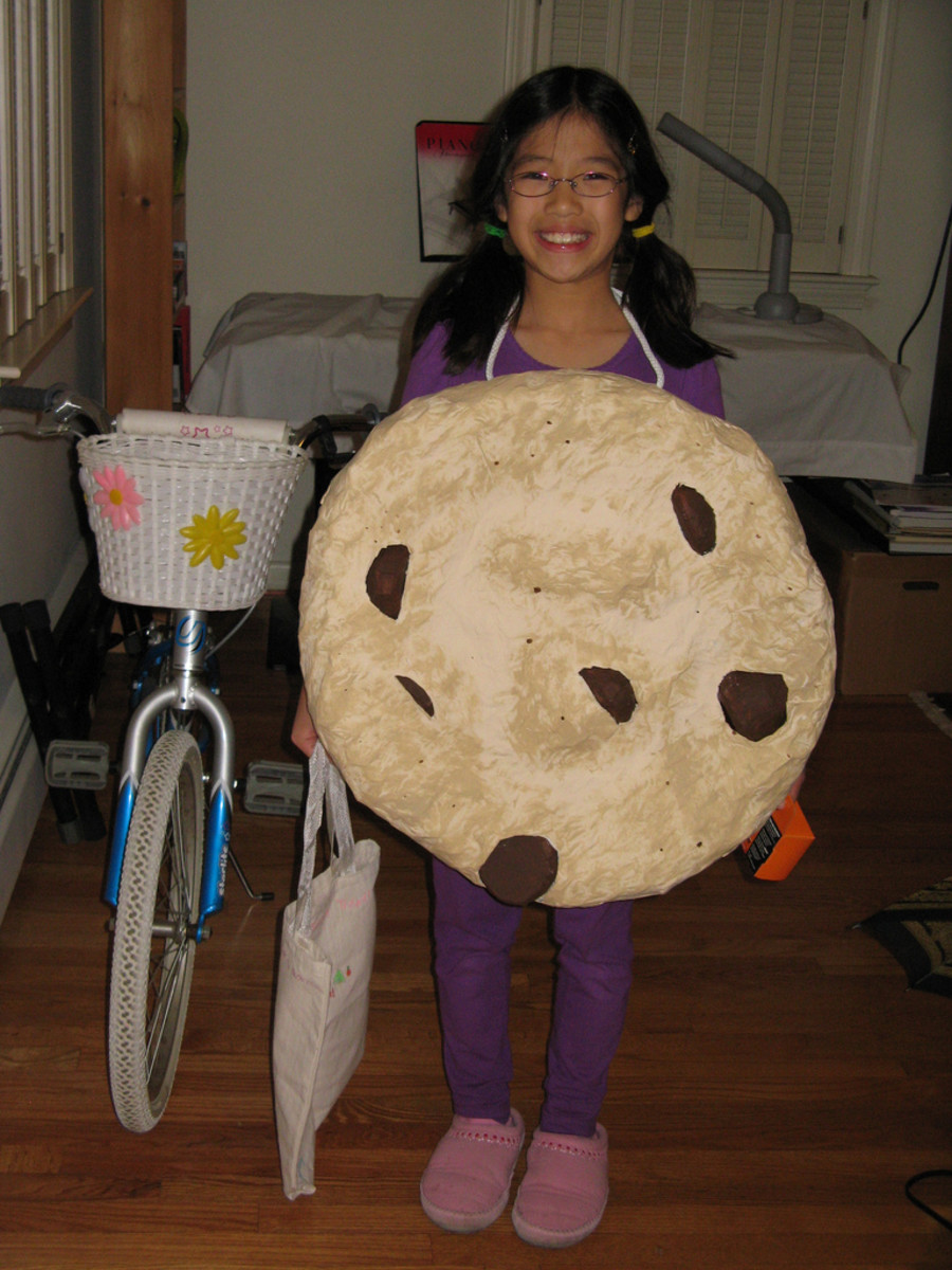 Paper Mache Costume, Cookie