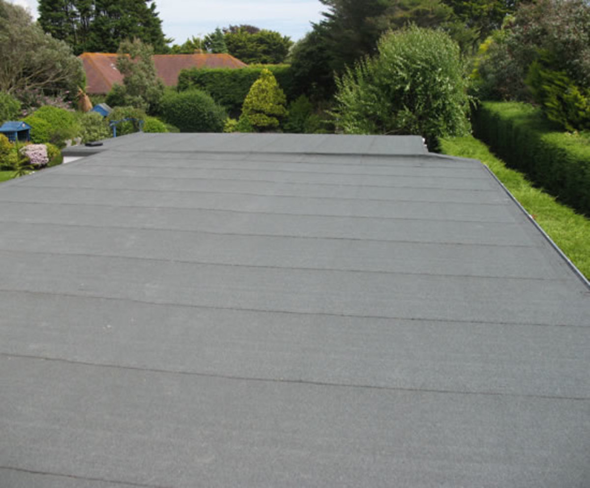 Which Is The Best Flat Roof System Felt Epdm Rubber Or