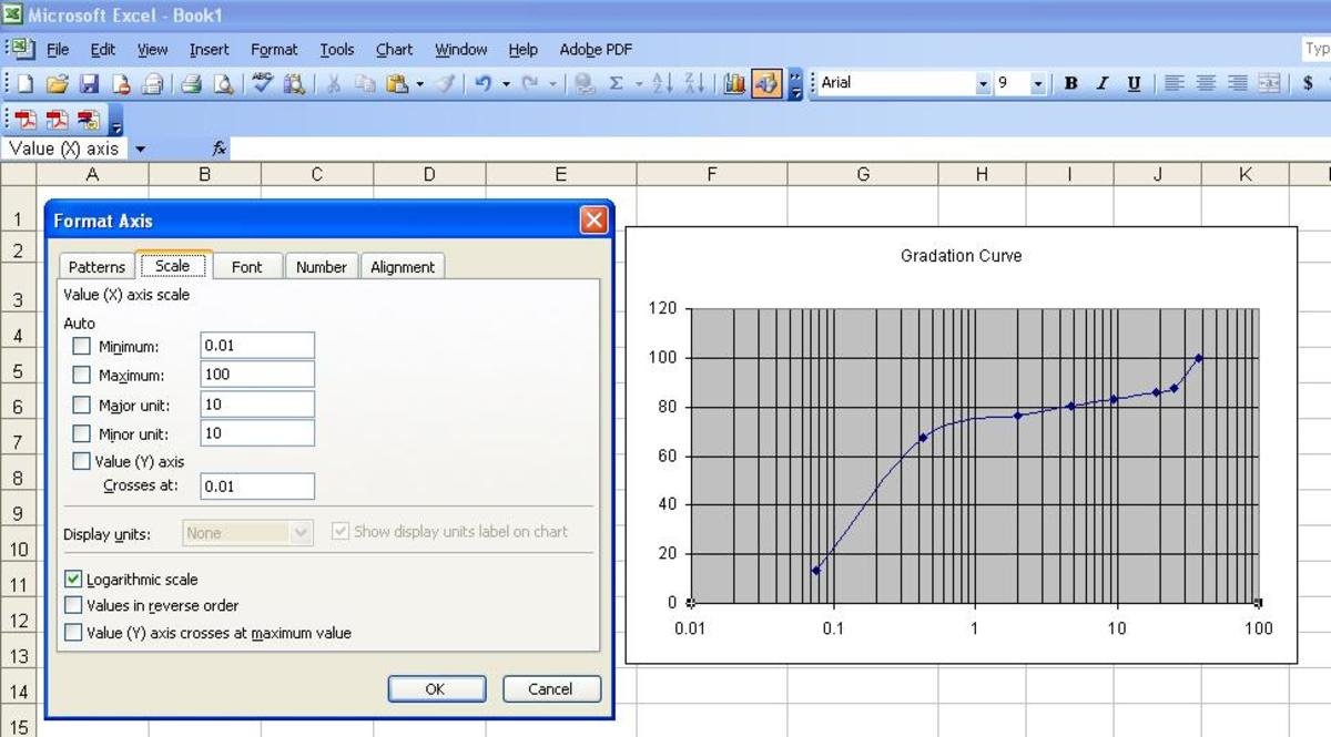 how-to-make-gradation-curve