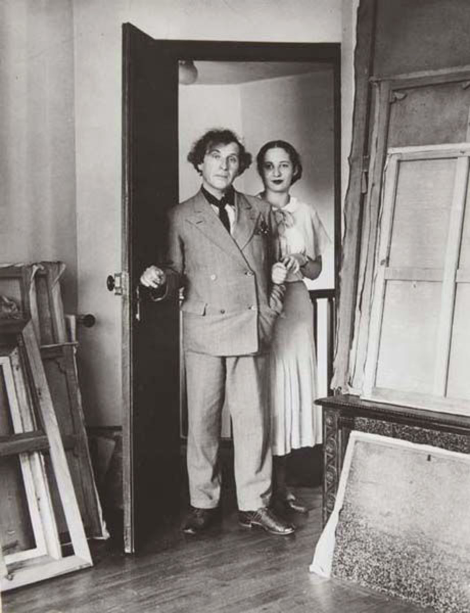 MArc and Bella Chagall  1933