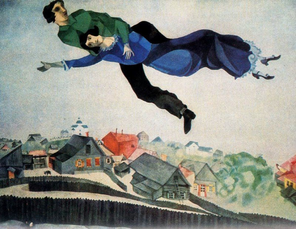 """""""Over the town"""" 1918"""