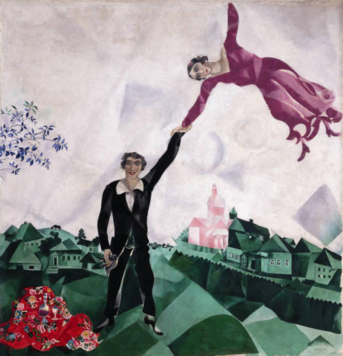 """""""The Promenade"""" or """"The Walk"""" 1917"""