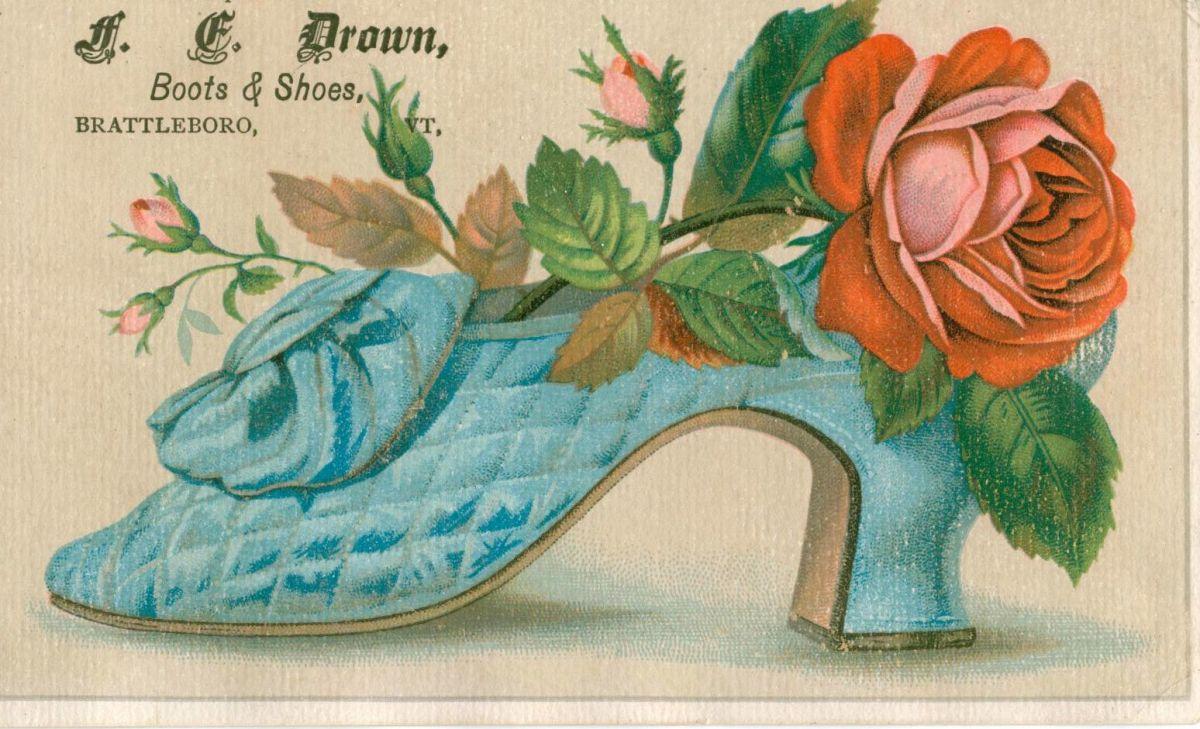 Vintage Shoes Ephemera
