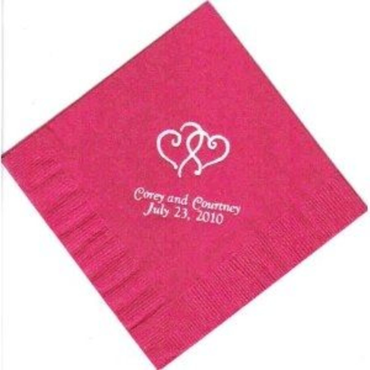 Sorry I Forgot Our Anniversary Personalized Napkins