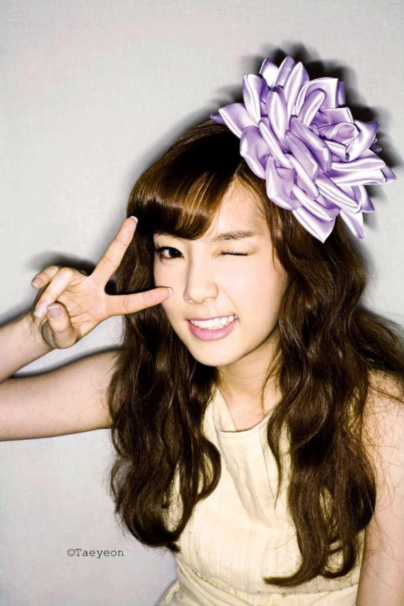 Taeyeon hairstyle.