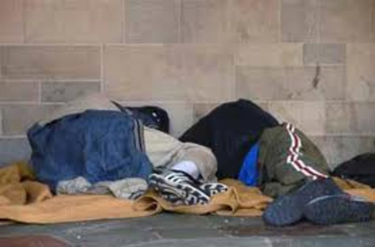 Many scapegoated children leave home because of hellish conditions.Although few leave voluntarily, most are ejected from their homes.Because of little or no skillsets, many of them end up homeless.
