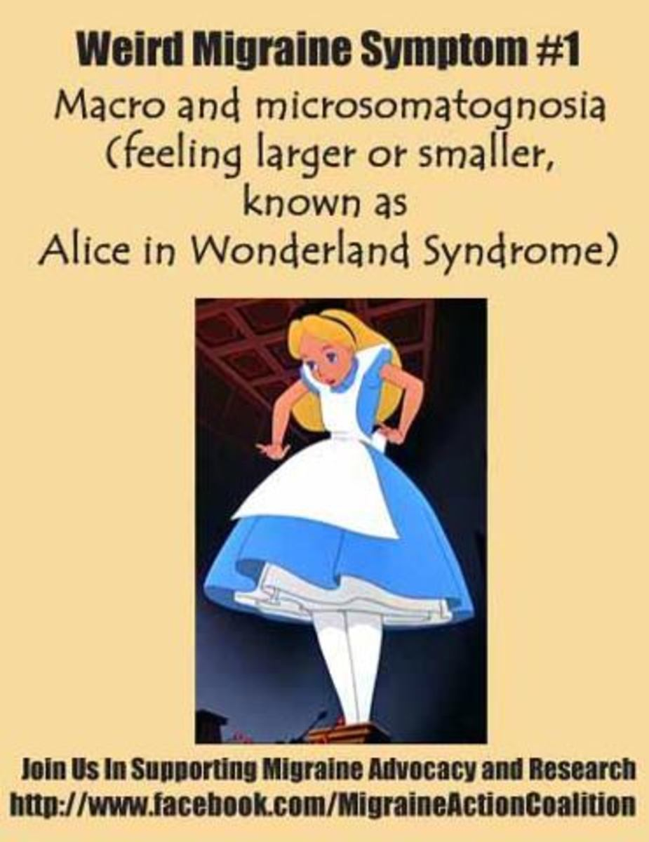 Alice in Wonderland Syndrome (AIWS) and Migraines