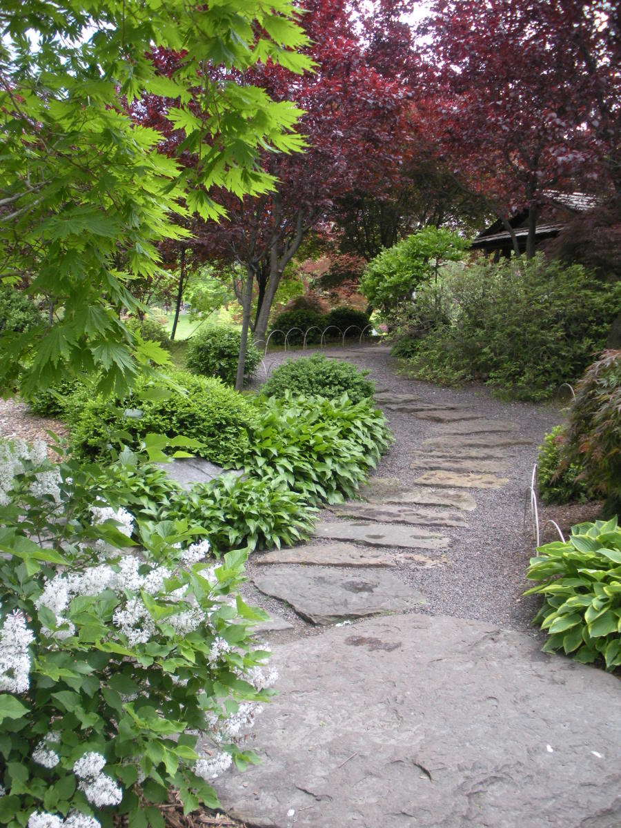 Gallery of paths in gardens take a stroll with me for Japanese garden path