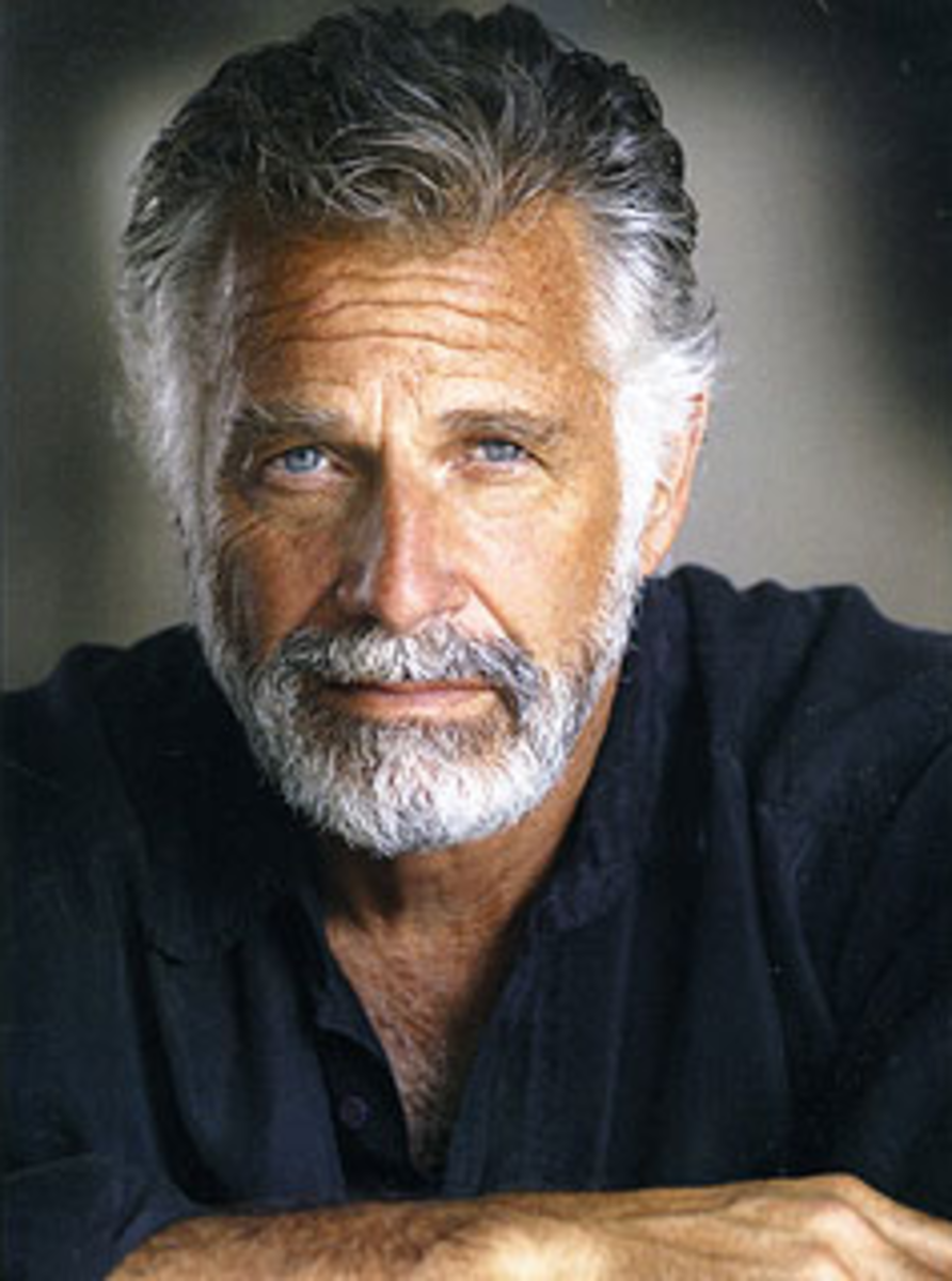 """""""The Famous Dos Equis Most Interesting Man in the World Commercial - Is He All That?"""""""