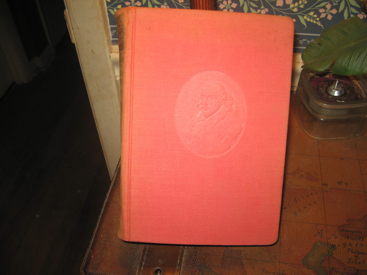 my 1864 edition of The Complete Works of William Shakespeare