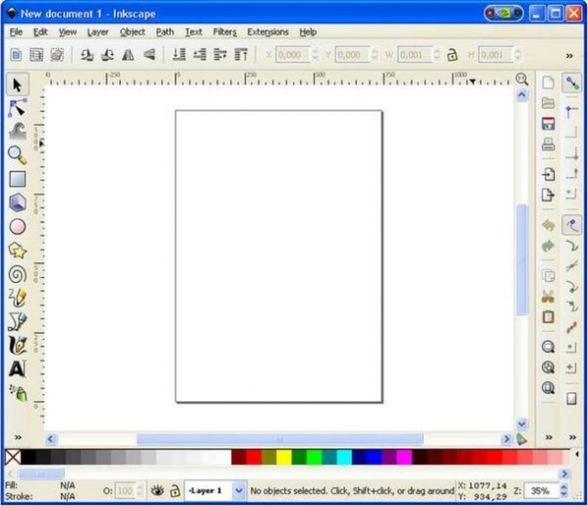 how to draw lines in inkscape