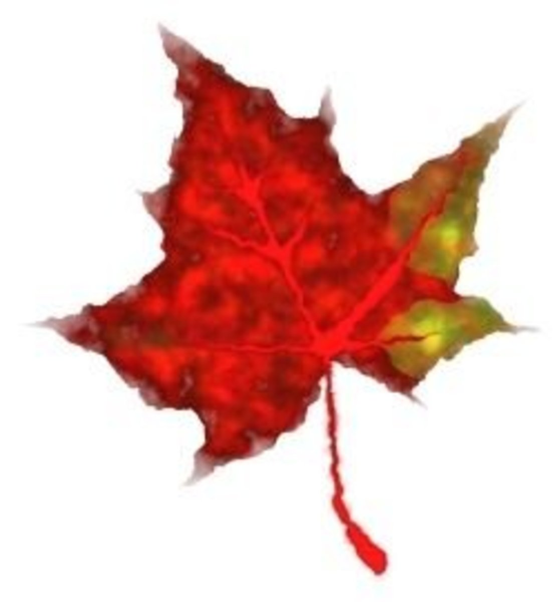 How To Draw Fall Leaves In Inkscape
