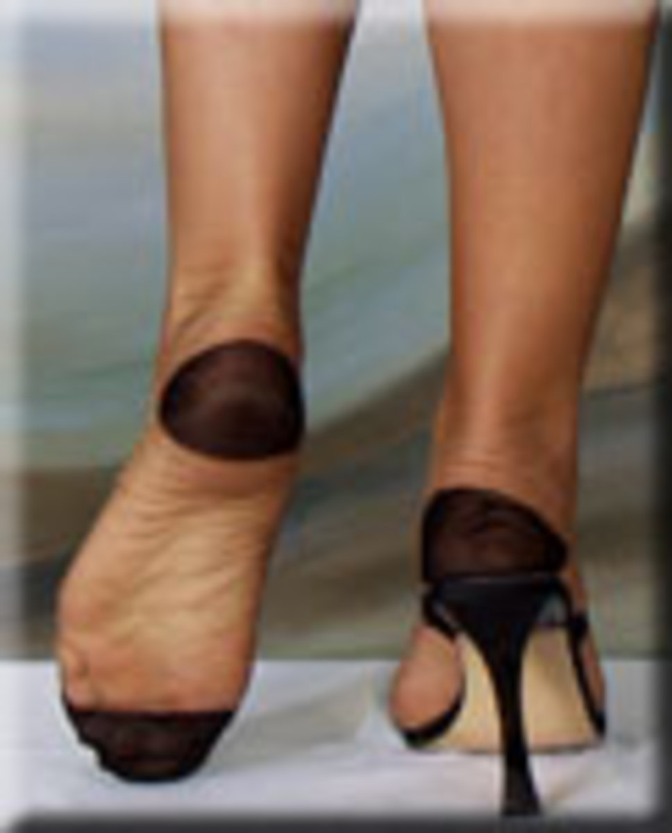 Reinforced Heel and Toe Stocking